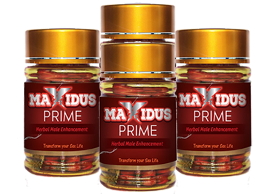 Maxidus Prime Male Enhancement 4PK